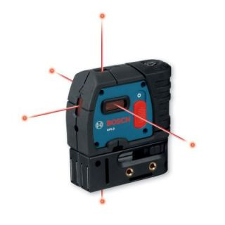 Bosch 5 Point Self Leveling Plumb and Square Laser GPL 5 S