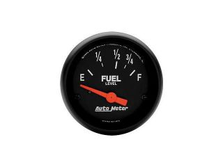 Auto Meter Z Series Electric Fuel Level Gauge