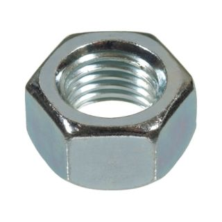 Hillman 7/8in 9 Hex Nut in Zinc Plated Steel (150027) 10/Box   Hex Bolts