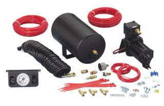 Firestone 2198   Dual Air Command III   Super Duty Compressor with On Board Air   Air Suspension Kits