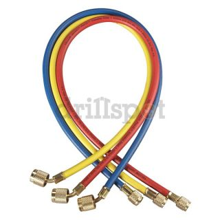 Yellow Jacket 22985 Refrigeration Hose Set, Low loss, 60 In
