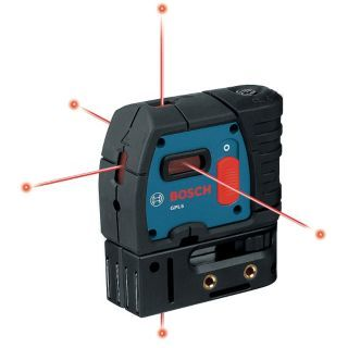 BOSCH Pendulum Self Leveling Self Leveling Alignment Laser   Rotary and Straight Line Laser Levels   29PG34|GPL 5