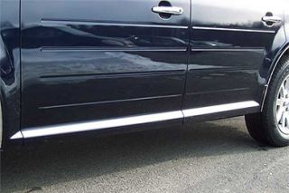 2009 2014 Ford Flex Chrome Rocker Panels & Side Molding   ProZ MI49340   ProZ Rocker Panel Trim