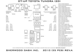 2007 2013 Toyota Tundra Wood Dash Kits   Sherwood Innovations 2010 BI   Sherwood Innovations Dash Kits