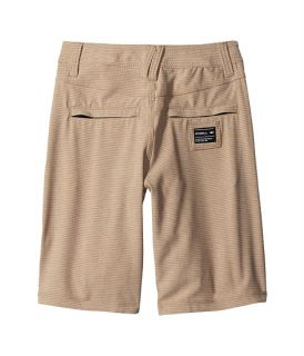 ONeill Kids Locked Stripe Boardshorts (Big Kids) Khaki