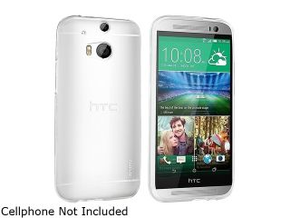 Insten Clear Transparent TPU Rubber Skin Gel Back Shell Case For HTC One M8 2078998