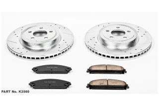2009 2016 Dodge Challenger Performance Brake Kits   Power Stop K2560   Power Stop Z23 Brake Kit