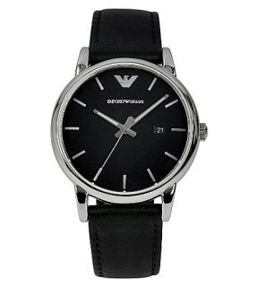 EMPORIO ARMANI   AR1692 stainless steel and leather watch