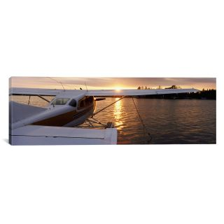 Panoramic Sea Plane Lake Spenard Anchorage, Alaska Photographic Print