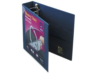 "Avery 79802 Nonstick Heavy Duty EZD Reference View Binder, 2"" Capacity, Navy Blue"