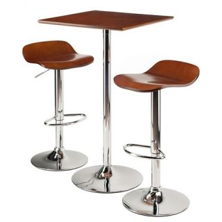 Kallie 3 Piece Set Pub Table Bar Height with Air Lift Adjustable
