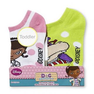Disney Baby Doc McStuffins Toddler Girls 6 Pairs No Show Socks   Baby