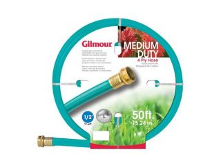 "Gilmour 1/2"" x 50' 4 Ply Medium Duty Garden Hose"