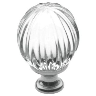Baldwin 1 3/16 in. Polished Chrome Round Cabinet Knob 4304.260