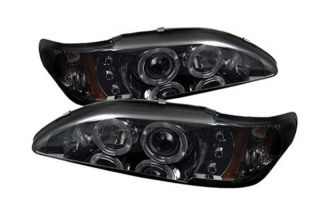 1994 1998 Ford Mustang Headlights   Spyder PRO YD FM94 1PC AM SMC   Spyder Headlights