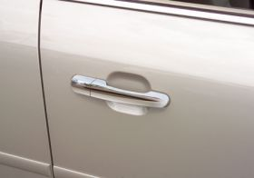 2008, 2009 Ford Taurus Chrome Door Handles   Putco 400029   Putco Chrome Door Handle Covers