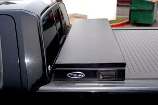 2007 2016 Toyota Tundra Toolbox Tonneau Covers   Truck Covers USA CR 404+toolbox/Bracket System   Truck Covers USA American Work Tonneau Cover