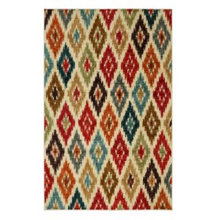 Mohawk Home Strata Red Area Rug