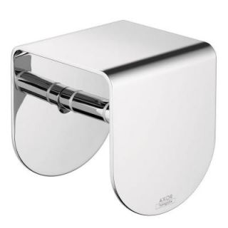 Hansgrohe Axor Urquiola Single Post Toilet Paper Holder in Chrome 42436000
