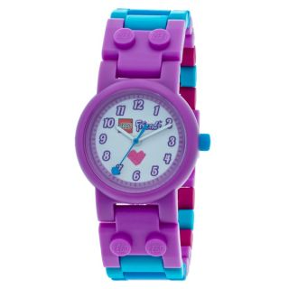 LEGO Friends Olivia Kids Interchangeable Links w/Mini Doll Watch
