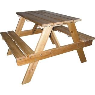 Ore Kids Indoor/Outdoor Picnic Table   Baby   Baby Furniture