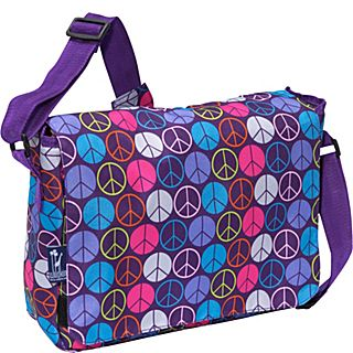 Wildkin Big Dots Hot Pink Kickstart Messenger Bag