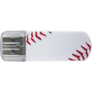 Verbatim Corporation Verbatim 16GB Mini USB Flash Drive, Sports
