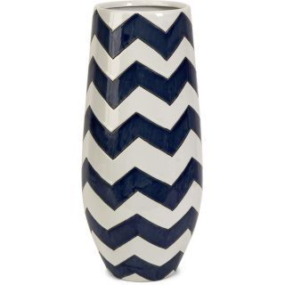 Chevron Short Vase   16718923 Great Deals