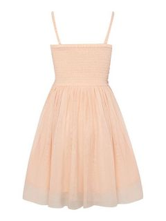 Billieblush Girls Peach Two Part Dress Orange