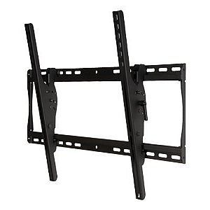 Peerless SmartMount Universal Tilt Wall Mount ST650   Mounting kit ( bracket, tilt wall plate, security fasteners ) for LCD / plasma panel   black   screen size 32   56   wall mountable
