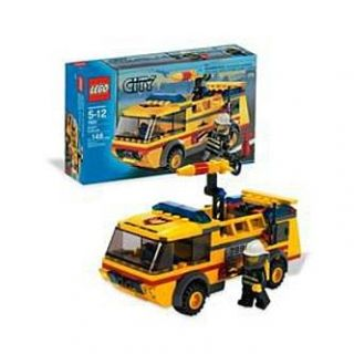 LEGO City Airport Fire Truck   Toys & Games   Blocks & Building Sets