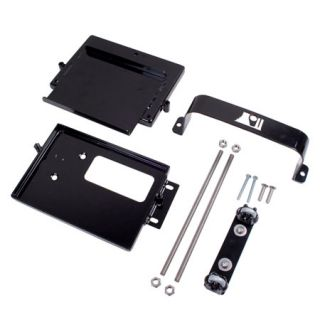 1997 2006 Jeep Wrangler Battery Mounts & Accessories   Rugged Ridge 11214.52   Rugged Ridge Dual Battery Tray