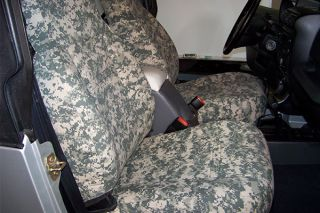 2000 2006 Ford Expedition Camo Seat Covers   CalTrend [PATTERN] 96KD   CalTrend Digital Camo Canvas Seat Covers