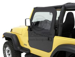 1997 2006 Jeep Wrangler Doors   Bestop 51793 35   Bestop Element Upper Doors