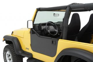 1990 2006 Jeep Wrangler Doors   Bestop 51792 01   Bestop Element Enclosure Kit