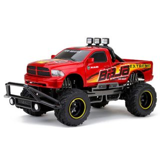 New Bright 110 Scale Remote Control F/F 9.6V Baja Extreme Truck   Red Dodge Ram    New Bright Industries