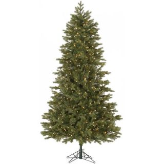 44 Slim Balsam Fir Tree with 500 Clear Dura Lit Lights