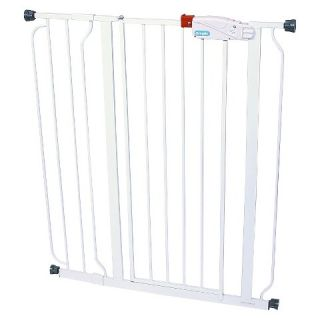 Regalo Easy Step Extra Tall Walk Through Gate with Pressure Mount   Up
