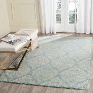 Safavieh Evoke Light Blue/ Ivory Rug (6 7 x 9)   18309629