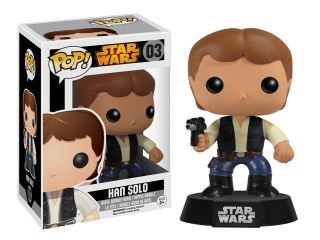 Star Wars Funko POP Vinyl Figure Han Solo