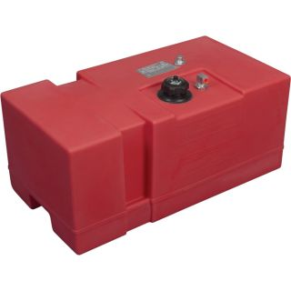 Moeller Marine Rectangular Topside Fuel Tank — 18 Gallon, Model# 031620  Transfer Tanks