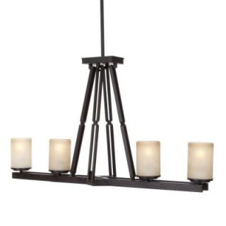 Hampton Bay Alta Loma 4 Light Dark Ridge Bronze Island Light 27154