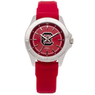 Jack Mason Brand South Carolina Gamecocks Womens Sport Silicone Strap Watch
