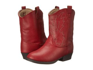 Baby Deer Western Boot (Infant/Toddler/Little Kid) Red