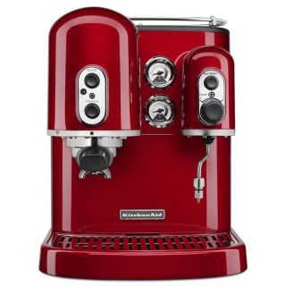 KitchenAid KES2102CA Candy Apple Pro Line Series Espresso Maker with