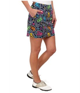 Loudmouth Golf Jolly Roger Skort Navy, Clothing, Women