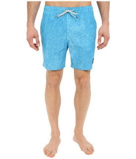 Quiksilver Acid Print Volley Boardshorts 17 Diva Blue, Blue