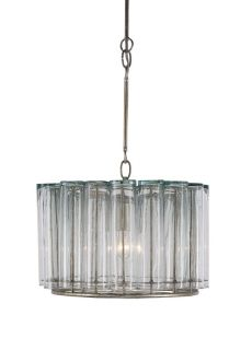 Currey and Company 9375 Silver Leaf Pendant Light