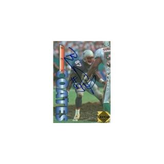 Autograph Warehouse 69396 Ben Coates Autographed Football Card New England Patriots 1995 Collectors Edge No. 131