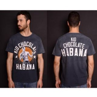 Roots of Fight Kid Chocolate Habana T Shirt   2XL   Charcoal